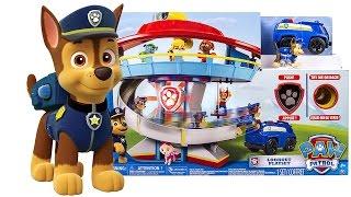 Scopriamo il Quartier Generale dei Paw Patrol [Apertura Gioco per Bambini in Italiano]