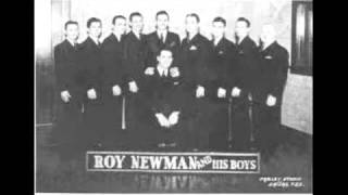 Roy Newman and his Boys - Dinah - 1935