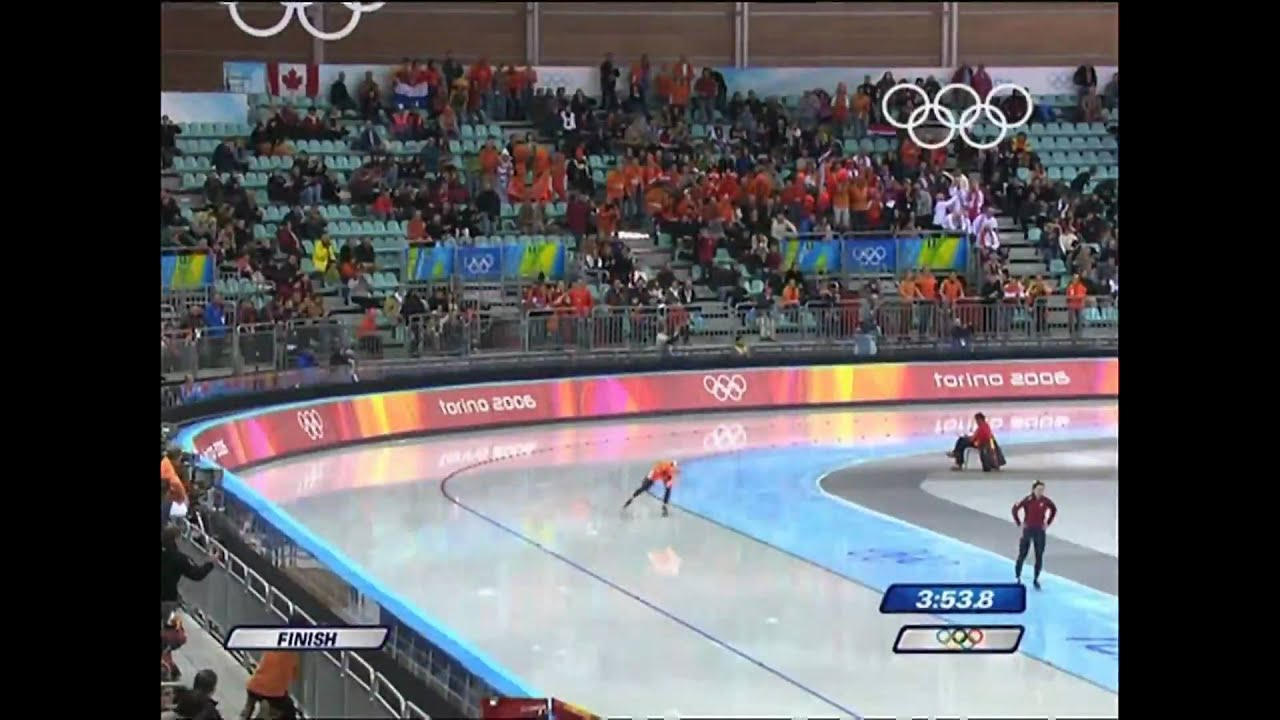 Wust - Speed Skating - Women's 3000M - Turin 2006 Winter Olympic Games