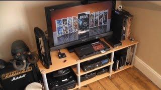 My 2011 Gaming Corner/Set-Up Room Tour - Retro and Modern Gaming