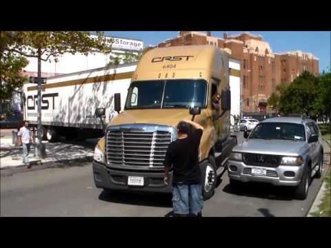 CRST Driver Gets Hung Up In Harlem