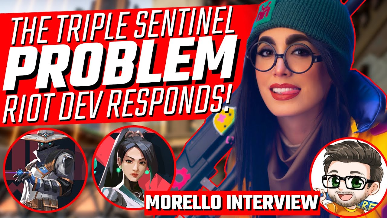 Valorant: Riot Talks Triple Sentinel Meta - HUGE Morello Interview!