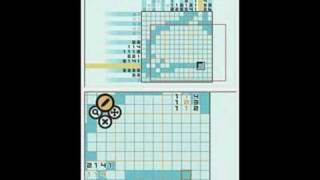 Picross DS - Normal 3-H - Dolphin