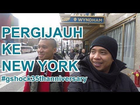 Gofar Hilman | PERGIJAUH KE NEW YORK - PART 1 #gshock35thanniversary
