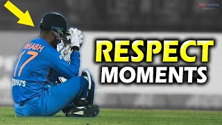 10 Most Beautiful Moments of Respect in Cricket | Indian Team 😍 | Updated 2020