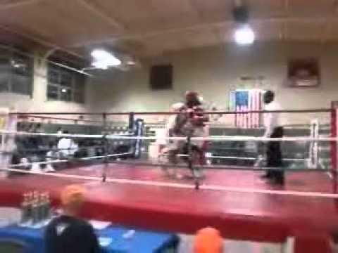 Terrence Burnett(Red) Vs Ripley (Blue)  Boxing 2011