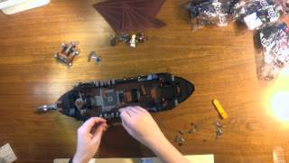 Lego Lotr Pirate Ship Time Lapse Hd