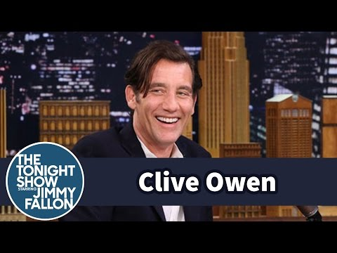 Clive Owen's Nose Was Mangled by a Tree