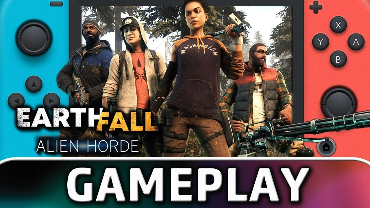 Earthfall: Alien Horde | First 30 Minutes on Nintendo Switch