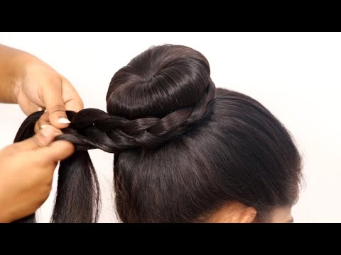 pongal-festival-special-hairstyles-//-easy-braided-hairstyle-compilation-//-hair-style-girl