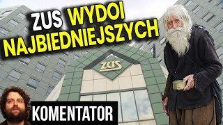 ZUS Wydoi Najbiedniejszych bo PIS Nie Ma Pieniędzy - Analiza Komentator Podatki Polityka Emerytura