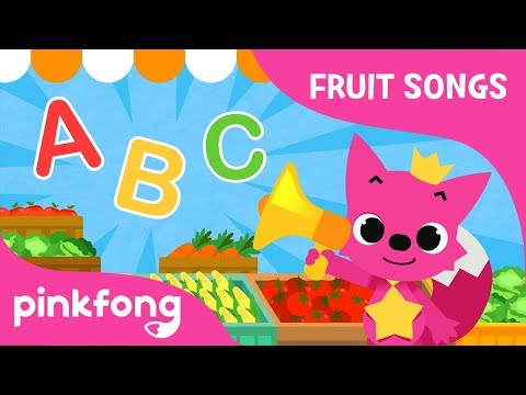 Fruit-Veggie ABC | Fruit Song | Pinkfong Songs for Children