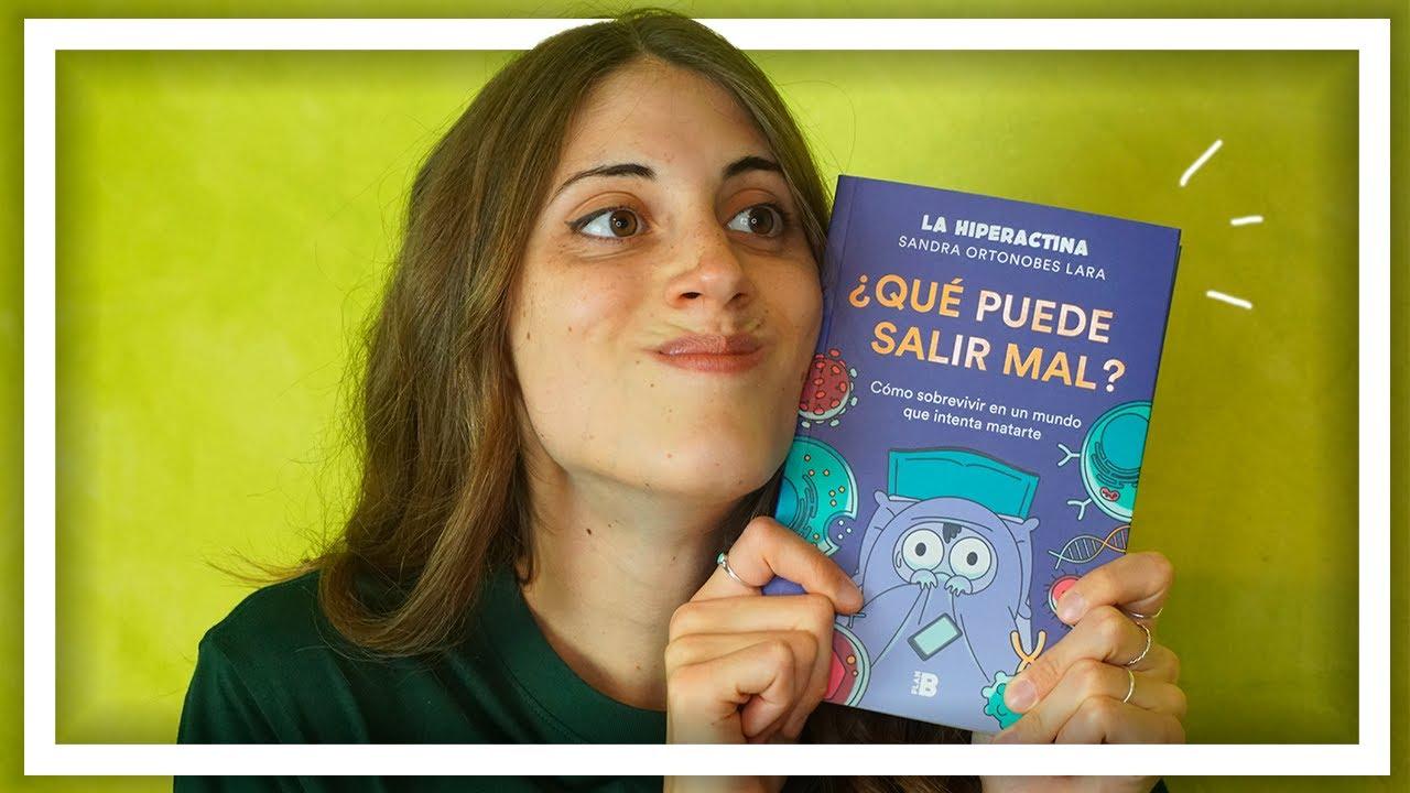 QUÉ PUEDE SALIR MAL? Mi libro sobre BIOMEDICINA - YouTube