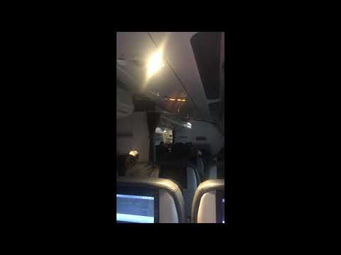 Thomas Cook Crew Gives Emotional Speech to Passengers After Touching Down in Manchester