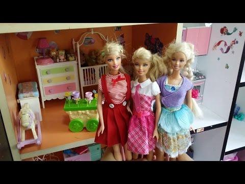 รีวิวบ้านบาร์บี้  Barbies's House (มาครบทุกห้องเลยจ้า)