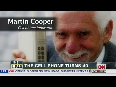 When was the first cell phone call made