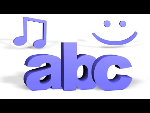 ABC ROCK With Me Song for Children   ABC Song   ABCs Song   Alphabet Song   3D ABCs