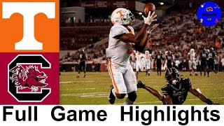 #16 Tennessee vs South Carolina | College Football Week 4 | 2020 College Football Highlights