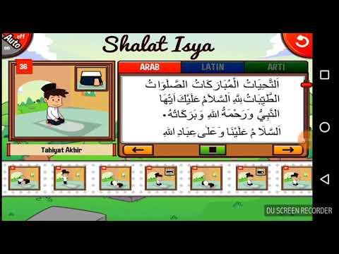 Bacaan Tahiyat Akhir dalam Sholat, Video Belajar Anak