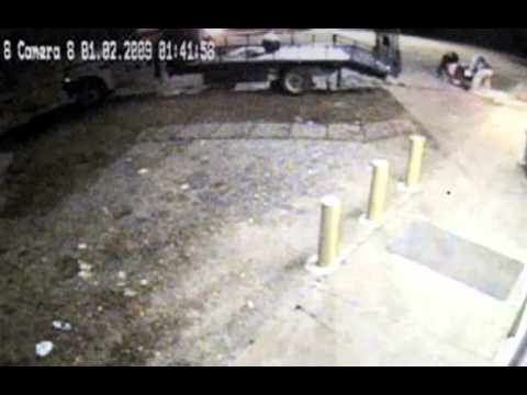 Clever ATM Anti-Theft Self-Descruct Footage