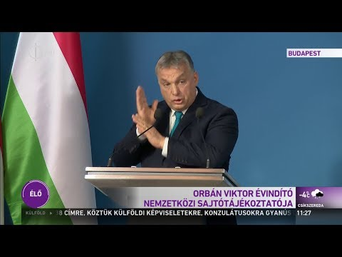 Orbán Viktor sajtótájékoztatója - 2019.01.10.
