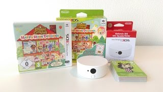 Animal Crossing Happy Home Designer + NFC Reader/Writer + amiibo cards - European Unboxing
