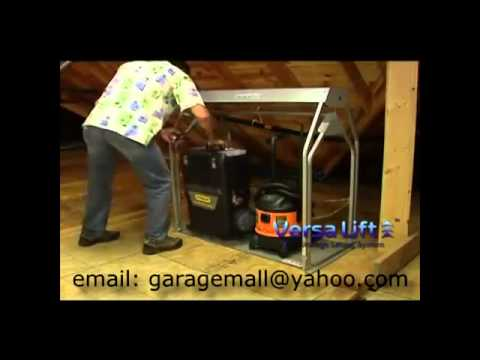 Attic Stairs Attic Storage The Best Ever Youtube