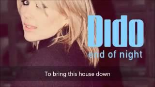 Dido End of Night Instrumental Version) [LYRICS ON SCREEN]