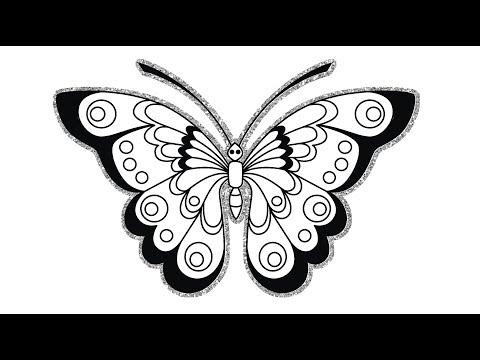 Gambar Kupu Kupu Dengan Glitter Butterfly Lovers Youtube