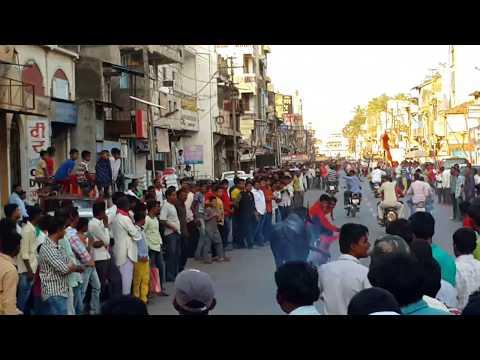 Sangli buffelo race -  Akshay Gavali & Ganesh are Driver. beffelo name is GOURI Year 2016