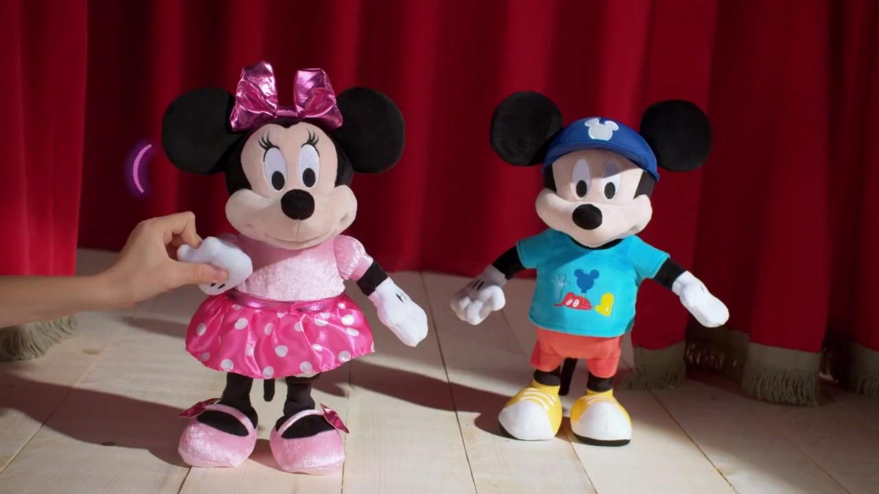 Peluche Minnie Interactiva 70 Frases Y 15 Ordenes Imc Toys