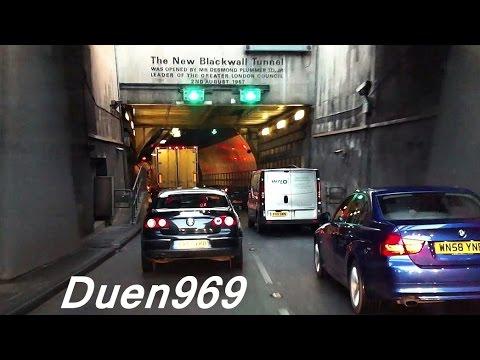 London Streets (507.) - Rainham - Barking - Blackwall Tunnel - Charlton