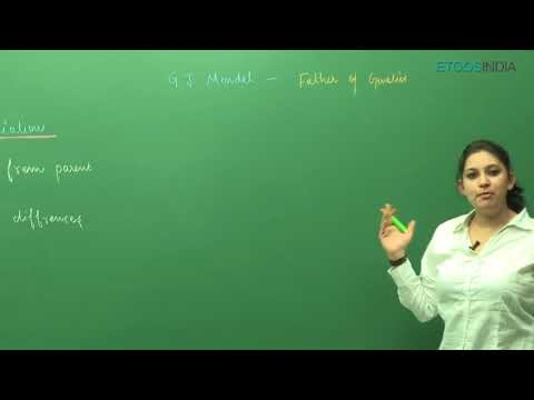 NEET Biology Principle of Inheritance and Variation video lectures by Shivani Bhargava (SB) Mam