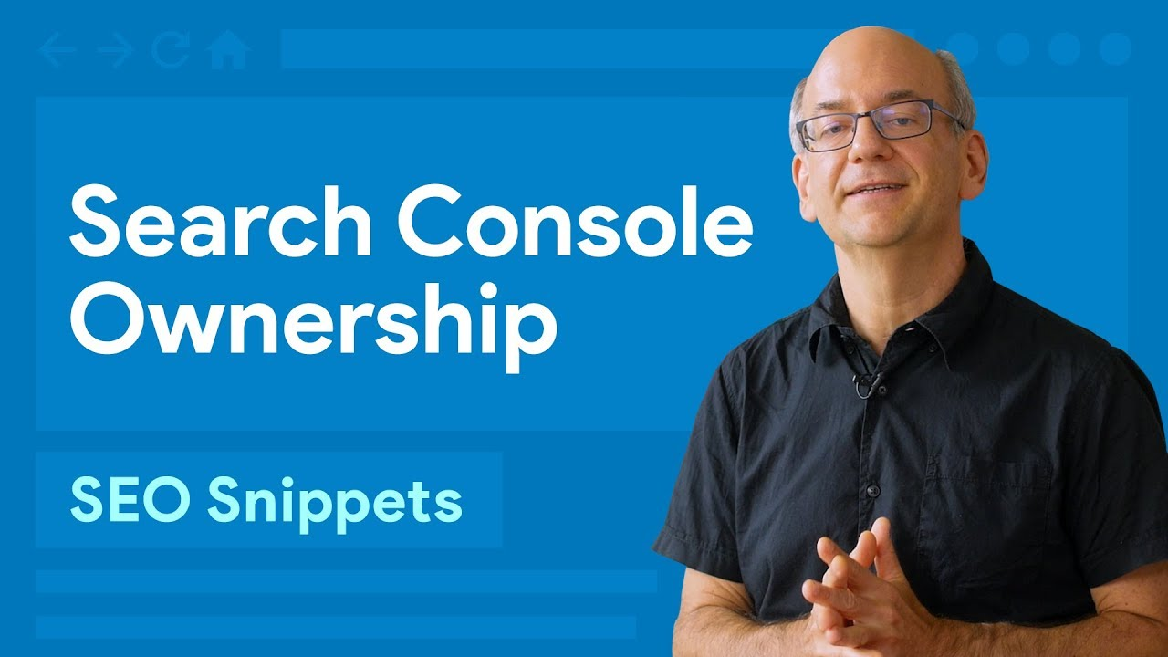 How do I regain ownership of a Search Console property?
