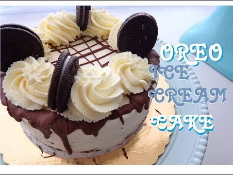 Oreo Ice Cream Cake   MCC