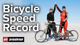 This is the FASTEST Bike in the World! | 183 mph Land Speed Record Bike