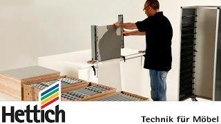 ArciFit 100: Montagehilfe für ArciTech Schubkästen von Hettich