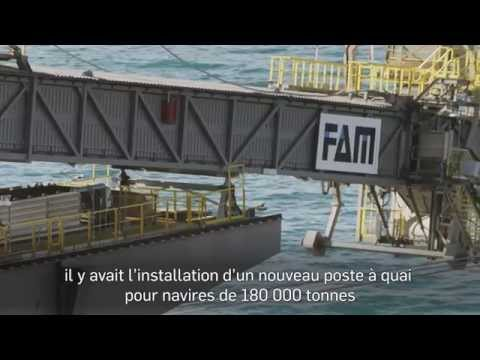 Cerrejón Port Operations | Les installations du port de Cerrejón