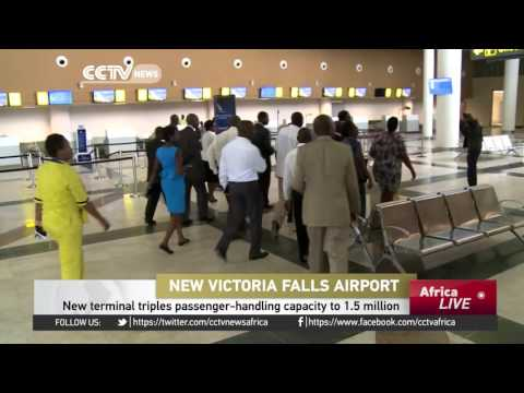 Zimbabwe's President Mugabe to open newly Chinese-built Victoria Falls airport