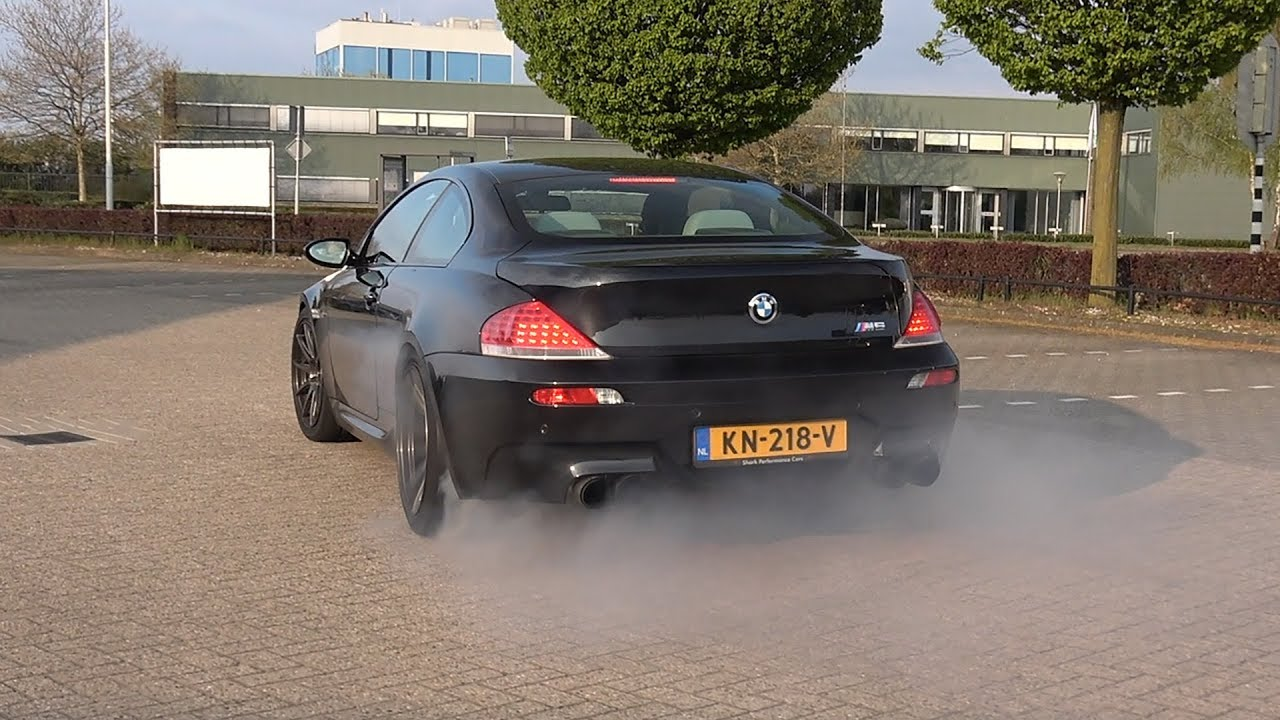 BMW M6 V10 - CRAZY BURNOUTS, ACCELERATIONS & EPIC V10 SOUNDS!