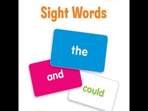 How to make sight words cards/Sight Words Flash Card Method/Kindergarten  Sight Word