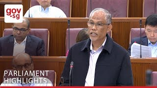 Minister Masagos On Hyflux's Challenges With Tuaspring Desalination Plant