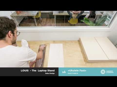 """Creations with our music #3 : """"LOUIS"""" by Dahu Design"""