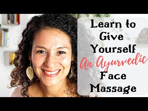 💆Quick Ayurvedic Face Self-Massage for Healthy & Youthful Skin🕺🏼