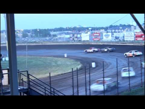 7/14/15 Nobles County Speedway IMCA Stock Car Feature