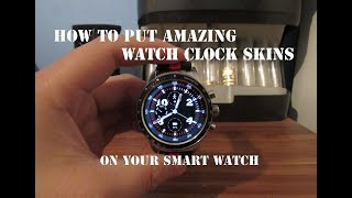 Get custom Watch Clockskins on your Smartwatch