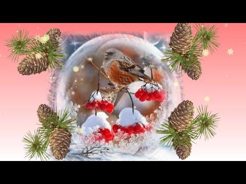 С добрым зимним утром   Пусть тебя везде удача ждёт