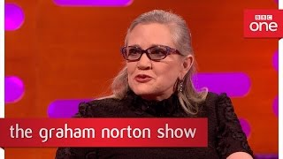 Carrie Fisher's affair with Harrison Ford - The Graham Norton Show 2016: Episode 10 – BBC One