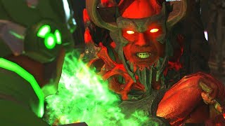 Injustice 2 - Atrocitus Vs Green Lantern - All Intro Dialogue/All Clash Quotes, Super Moves
