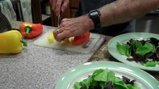 Coach Terry Makes Sashimi Salad For Dinner.mp4